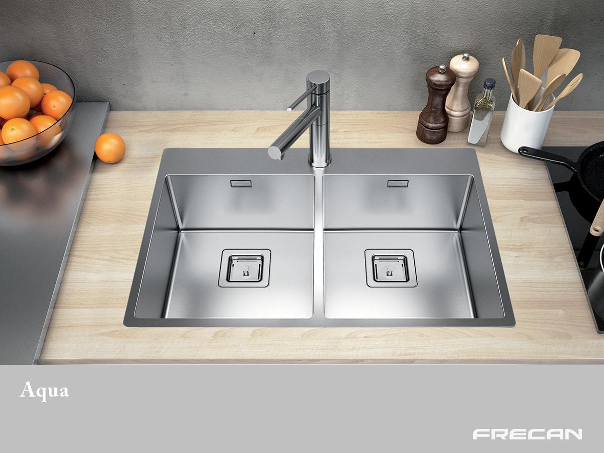 Fregadero Aqua, belleza y funcionalidad - Blog de Frecan
