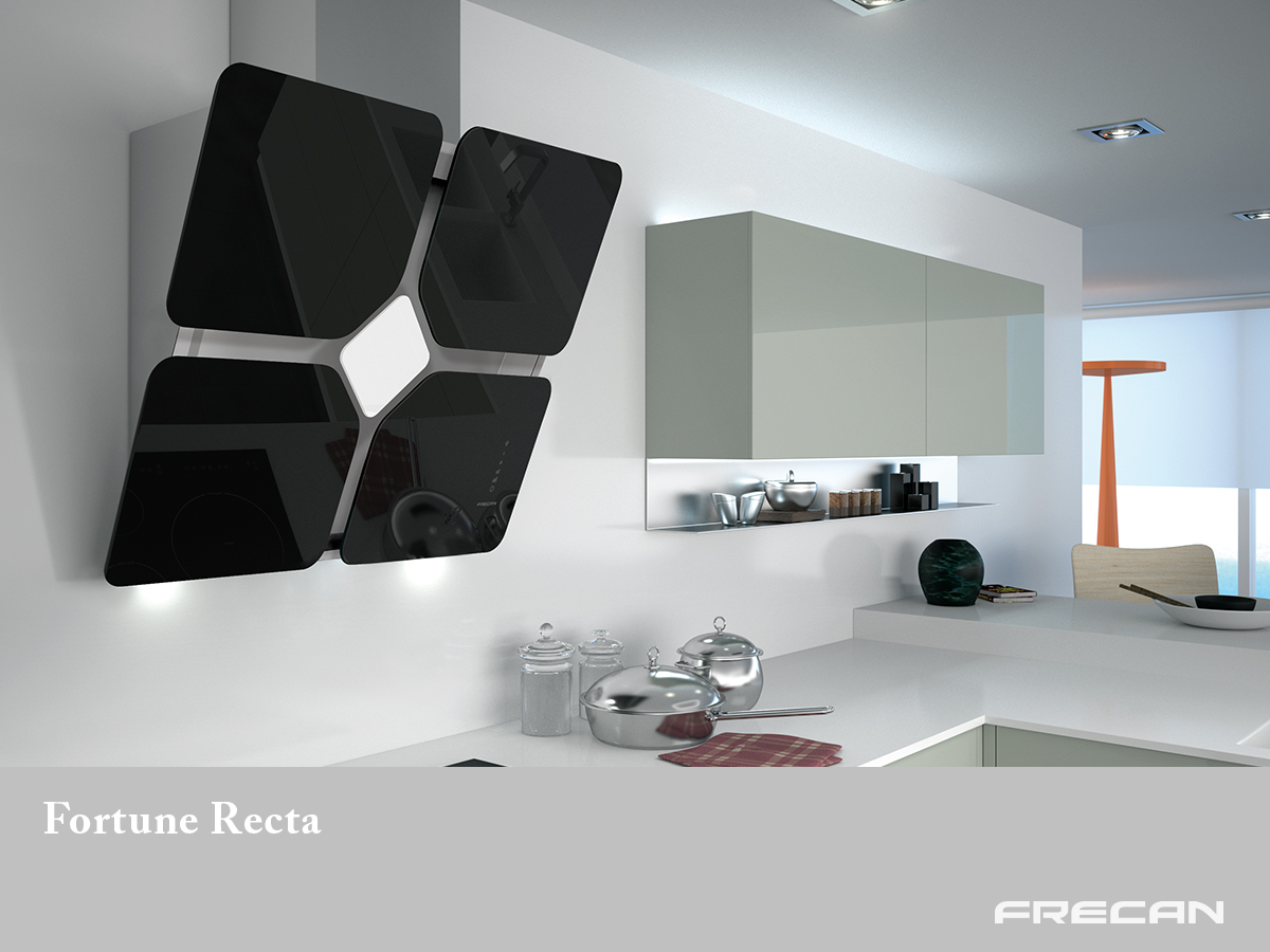 Campana extractora cocina de pared Fortune Recta Frecan