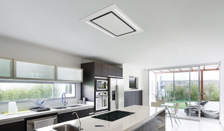 Nueva campana de techo cloud 360 campanas extractoras frecan - Campanas extractoras para cocinas ...