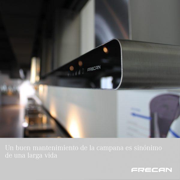 mantenimiento campana extractora Frecan
