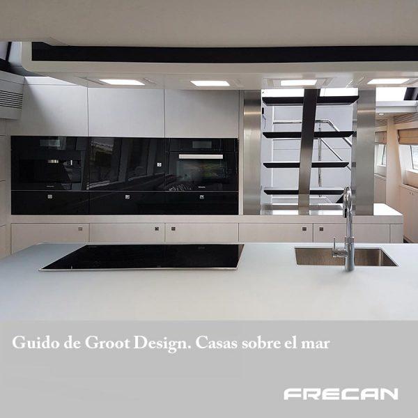 Cocinas frecan yates de lujo. Guido de Groot Design