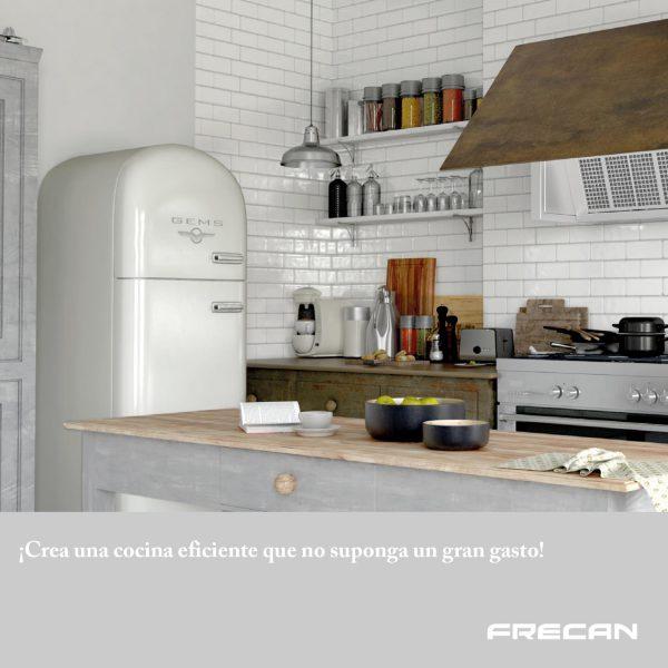 Consejos para equipar tu cocina eficiente. Frecan
