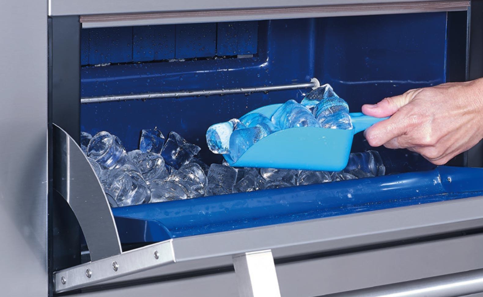 Fabricacion de hielo de alta calidad