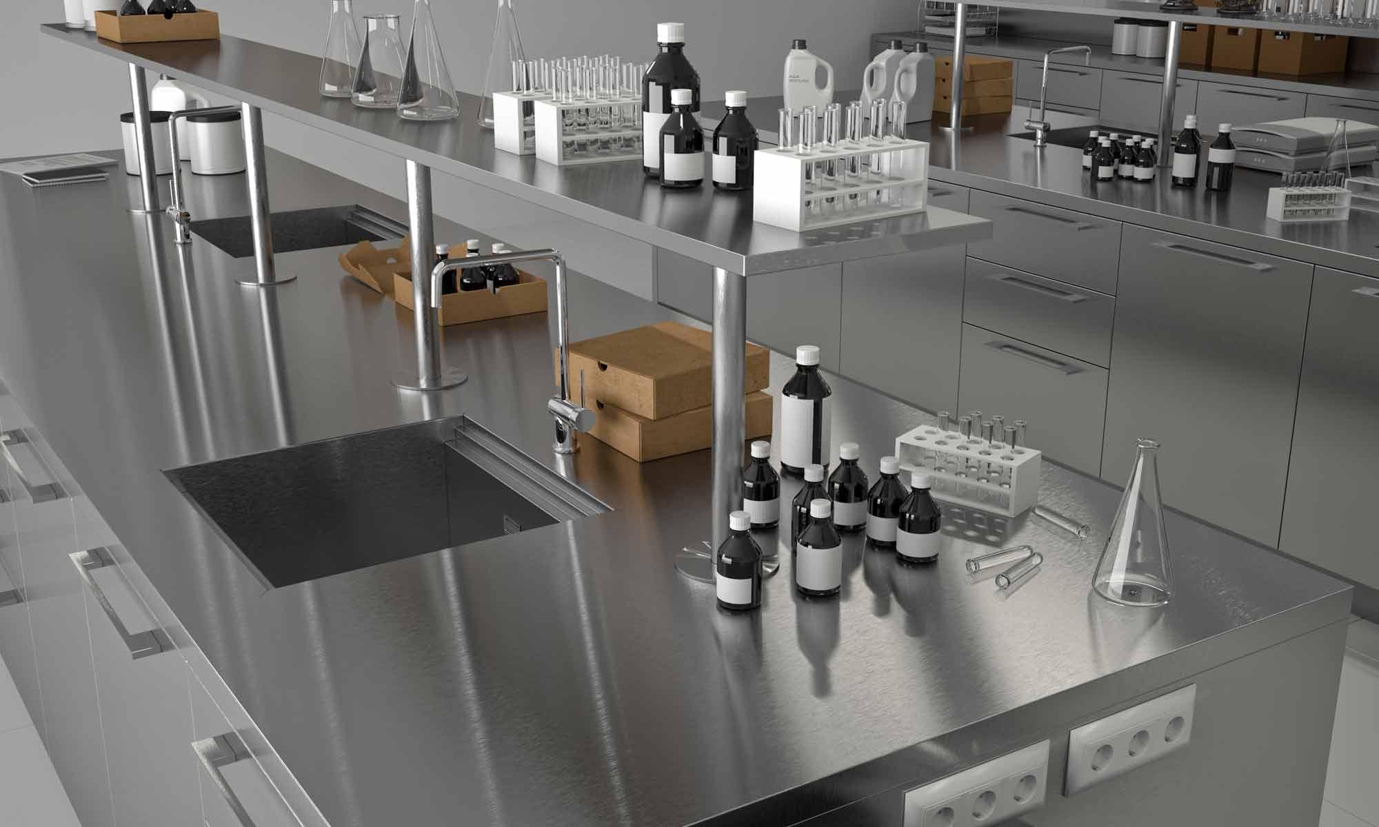 Bautek lab, laboratorios químicos. Frecan