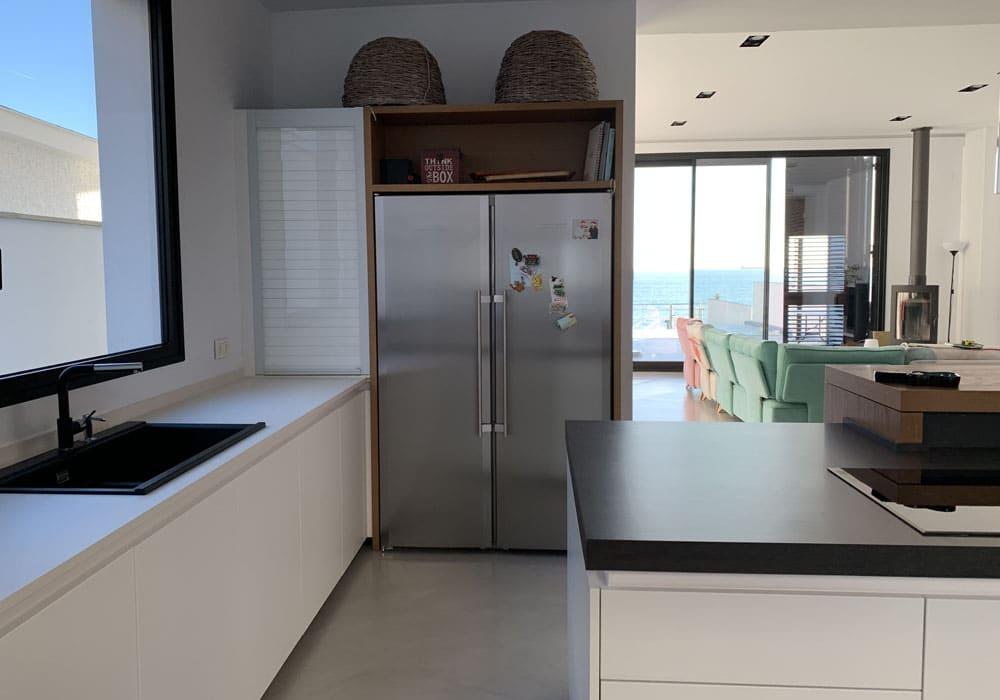 Dcocina, reforma cocina con vistas al mar, Frecan