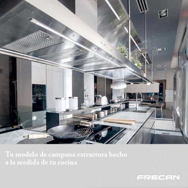 Campanas personalizadas de cocina. Frecan