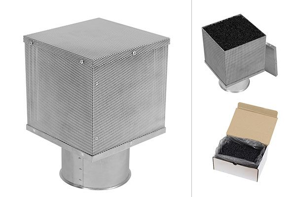 Long-lasting active carbon filters FC-Plus. Recirculating hoods