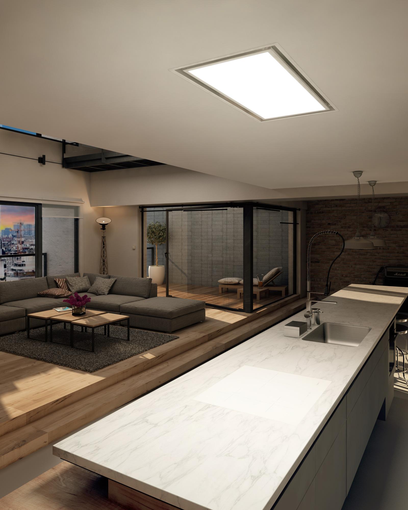 New Bright 360 ceiling hood, Frecan