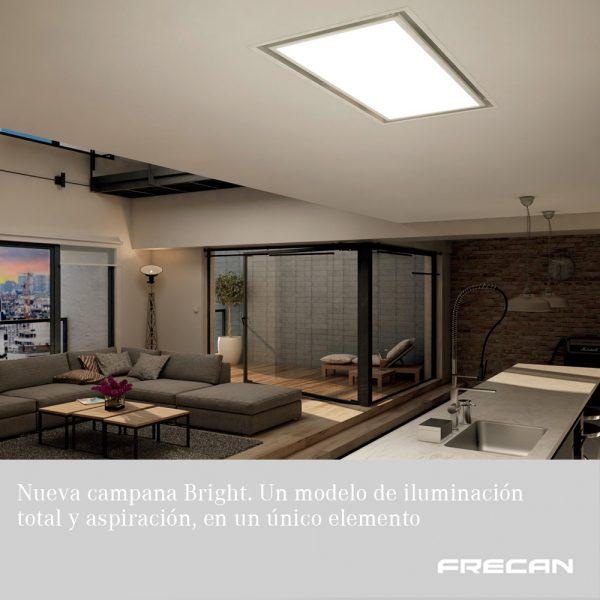 Nueva campana de techo Bright 360. Frecan
