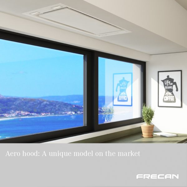 New ceiling hood Aero, Frecan by Barcelona