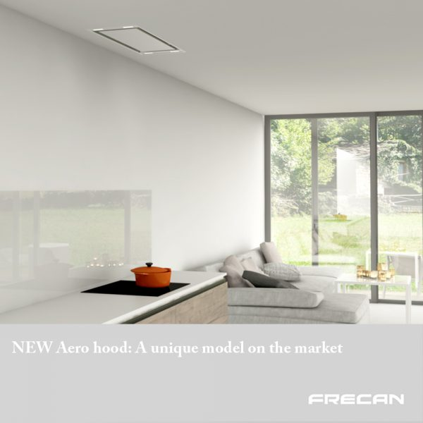 New ceiling hood Aero, Frecan by Barcelona