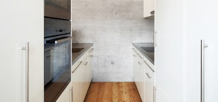 Purify the air of kitchen avoiding energy loss
