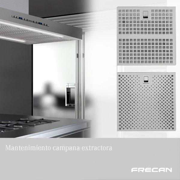 Mantenimiento de los filtros de las campanas extractoras - Frecan