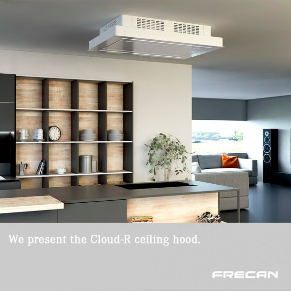 Ceiling hood without false ceiling Frecan