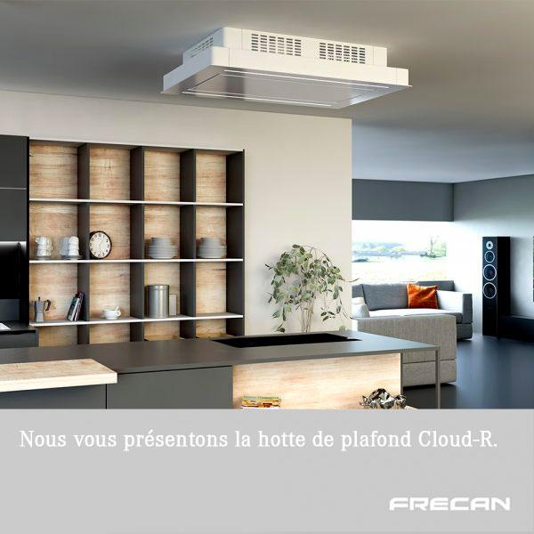 Hotte de plafond sans faux plafond Frecan