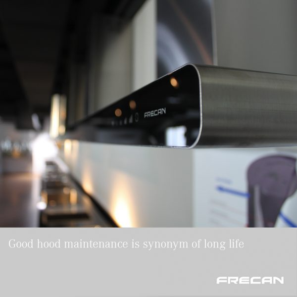 maintenance of range hood. Frecan