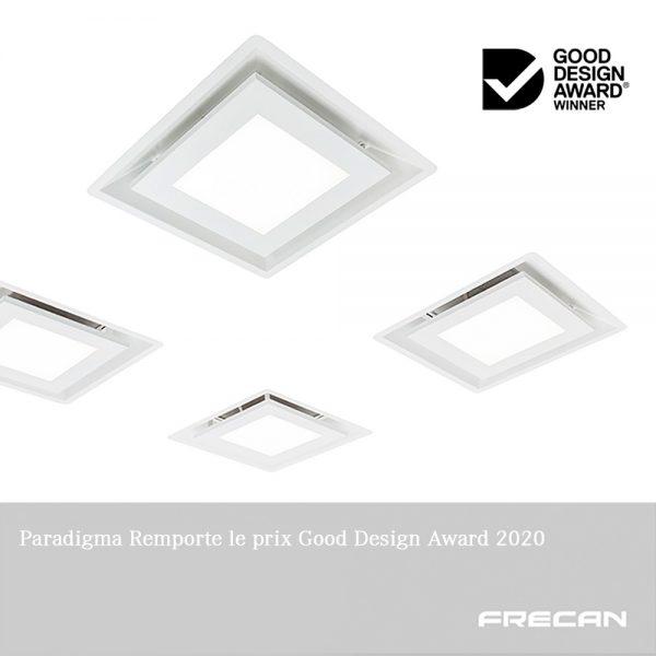 Paradigma by Frecan de Schweigen remporte le Good Design Award 2020