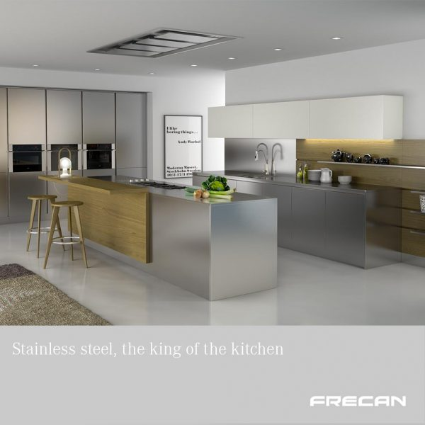Bautek by frecan. Stainless steel, the king of the kitchen