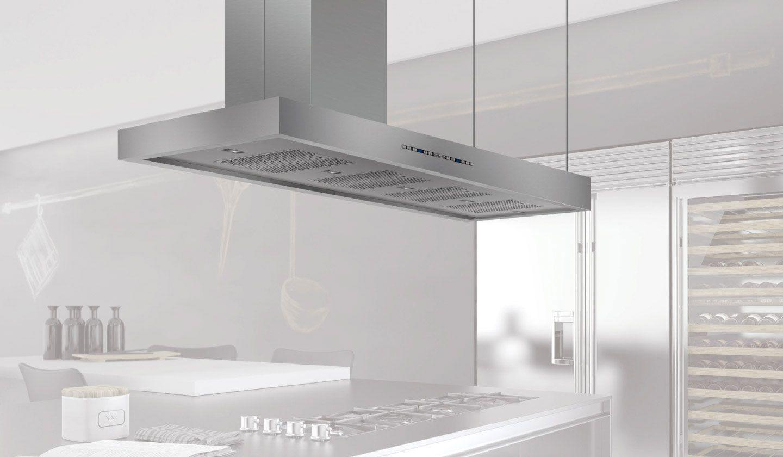 Campana extractora de cocina a medida emotion tubo - Campana extractora medidas ...