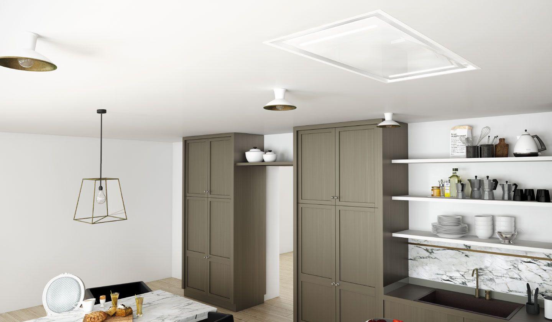 Campana extractora de cocina de techo moon 360 frecan - Campanas extractoras de recirculacion ...