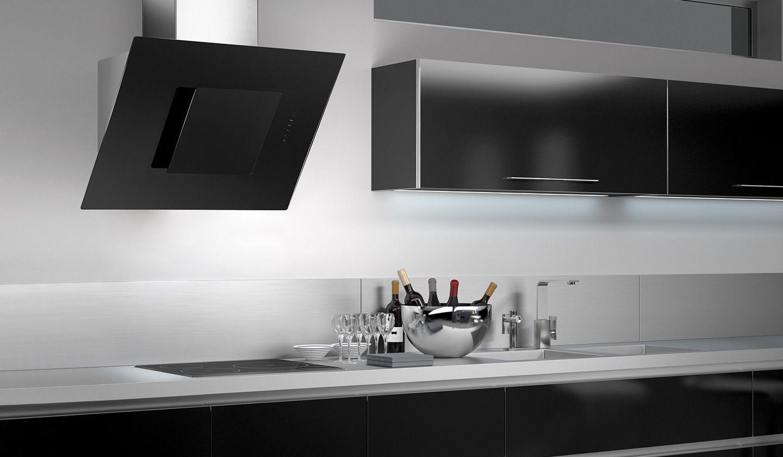 Campana extractora de cocina de pared odyssey frecan - Campanas de cocina decorativas ...