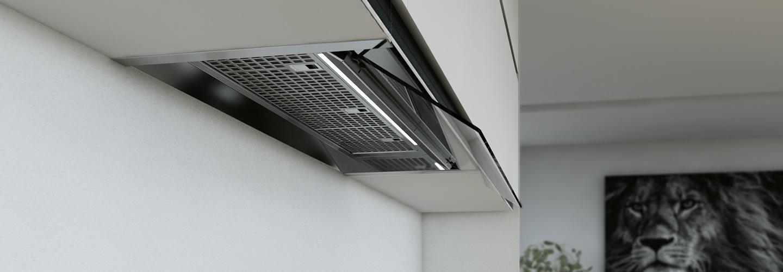 Campanas extractoras de cocina integrables frecan - Mejores campanas extractoras para cocinas ...